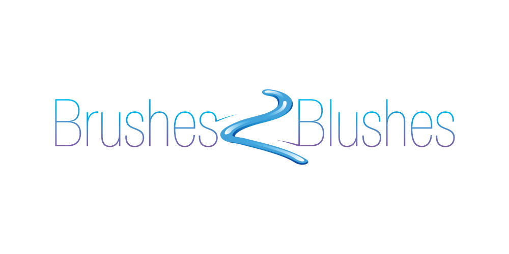Brushes 2 Blushes logo